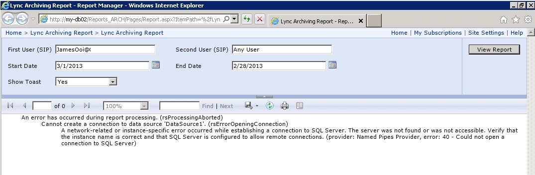sql is running mac server instance how to open