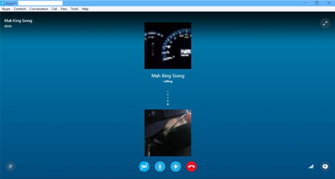 Skype Consumer Audio Call
